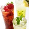 ザ・ロビーラウンジ - 料理写真:平日限定の人気メニュー『スパークリングモーメント』で味わう、色鮮やかなカクテル