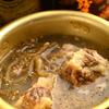 焼肉ホルモン せいご - 料理写真:3時間煮込んだ さっぱり自家製テールスープ