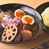 ノットカレー  - 料理写真:野菜たっぷりスープカレー+国産ほどけるチキン+ゆで玉子