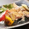 月桜 - 料理写真:薩摩知覧鶏のブラックペッパー焼き、シンプルに地鶏の旨味が味わえます。