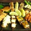 むく - 料理写真:じっくり炭火で焼いた串焼きの数々!どれをとってもおいしいです。
