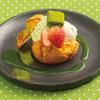 ビタースイーツ・ビュッフェ - 料理写真:【ディナー限定】おやいづ抹茶の生チョコクッキーシュー