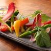 らきせぶ - 料理写真:クリーミィーバーニャカウダ 旬菜と共に