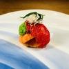 料理屋 真砂茶寮 - 料理写真:【伊勢海老の唐衣】ウニと打豆の衣和え