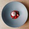 B - 料理写真:イチゴのヴァシュラン仕立て