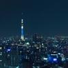 ザ・ロビーラウンジ - 内観写真:東京スカイツリーを望むラウンジからの夜景