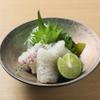 京都鴨そば専門店 浹 - 料理写真:鱧の焼きしも造り