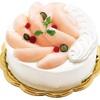 フォーシーズンズカフェ - 料理写真:予約限定【7月限定】桃のデコレーションケーキ