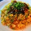 海八 - 料理写真:ラフティーの甘いたれをかけました~このあまだれがさらに食欲をそそります!