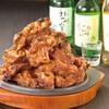 韓国屋台 豚大門市場 - 料理写真:韓国焼酎と一緒にトゥンカルビもどうぞ!