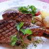 イルキャンティ - 料理写真:骨付きミラノポークのスモークグリル