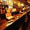 かけはし - 内観写真:日本酒、焼酎も色々取り揃えております。