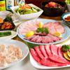 熙楽苑 - 料理写真:豪華な焼肉コース