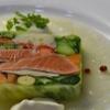 ピッツェリア ピッキ - 料理写真:20種以上の農園野菜とサーモンのテリーヌ 950円