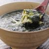 丸一伊澤水産 - 料理写真:青のりたっぷりの中には熱々豆富の「青のり豆富」