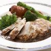 ステラガーデン - 料理写真:富士地鶏のグリル(付け合わせの野菜が絶品です)