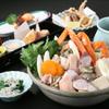 えちごや - 料理写真:冬の魚貝を盛り込んだ特製寄鍋コースは4000円、5000円。+2000円で飲み放題がつけられます!!