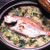 折おり - 料理写真:土鍋で炊き上げる自慢の「鯛めし」