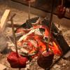 江戸肉割烹 ささや - 料理写真:炉端で焼かれる絶品お肉♪