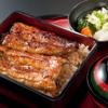 """藍の家亭 - 料理写真:《ブランド鰻""""坂東太郎""""》天然鰻の泥臭さやクセがなく、脂がのっているのにサラっとした口当たりと肉厚が特徴です"""