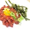 焙屋 - 料理写真:あぶり肉のユッケ