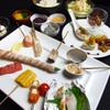 彩華 - 料理写真:【彩華コース】 丁寧に仕込みをした前菜に、旬の素材を一工夫加えた串揚げとご飯物までついた当店自慢のコースです