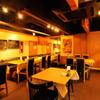 オステリア ヴィン カフェ - 内観写真:店内は暖色系の照明で、落ち着いた雰囲気の中お食事いただけます!