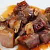 鉄家 - 料理写真:サーロインのサイコロステーキ