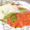 弘Tomorrow - 料理写真:トマトとチーズのバジルソースホイル焼き