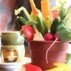 ミキヤズ - 料理写真:花里農園直送の新鮮野菜のバーニャカウダ! 950円