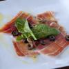 桜屋 - 料理写真:ワインと相性抜群、自慢の逸品『スペイン産豚のハモンセラーノ』