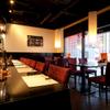 彩食健美 くり田 - 内観写真:カウンター8席とテーブル席