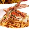 ルサーク - 料理写真:渡りカニのトマトパスタ
