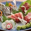 鼎 - 料理写真:刺身五種盛り合わせ
