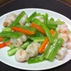 聚中縁餃子 - 料理写真:エビとセロリの塩味炒め
