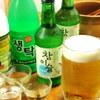 韓国食堂 ジョッパルゲ - 料理写真:飲み放題(2h) 1,700円→1,500円