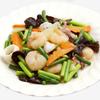 三百宴や - 料理写真:海老イか野菜