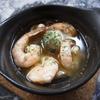 ボーデリアハヤカワ - 料理写真:海老とマッシュルームのアヒージョ