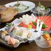 桐壺 - 料理写真:コース料理も各種ご用意。季節に合わせた旬の素材を使っております。