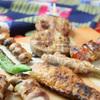 ジョウモン - 料理写真:名物!博多串焼き各種は毎日串打ちし、仕込みをしております!