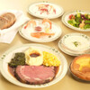ロウリーズ・ザ・プライムリブ 大阪 - 料理写真:大人気のパーティーコースはコーススタイルでご用意♪