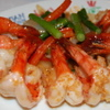 アジアンキュイジーヌ ヘイマーケット - 料理写真:揚げにんにくとタイの香ばしいお醤油がエビの旨みを引き出します。