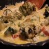 てっぱん家 てるてる - 料理写真:アボガドとトマトのチーズ焼き