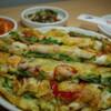 カントンの思い出 - 料理写真:「海鮮チヂミ」(¥1,500)