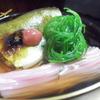 貴与次郎 - 料理写真:梅風味の鮎そうめんは、濃厚な鮎の旨みを堪能できます。
