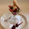 ポピーノ - 料理写真:フルーツとホワイトチョコレートのムース