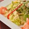焼肉ひび屋 - 料理写真:エビとアボガドのスパイシーサラダ 1人前1,100円