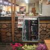 廻鮮寿司処 タフ - 内観写真:店内入口です。おススメ食材が黒板に◎