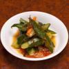 白雲台 - 料理写真:自家製キュウリキムチ