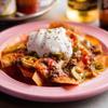 墨国回転豚料理 - 料理写真:軽食感覚で食べられる『ナチョス』